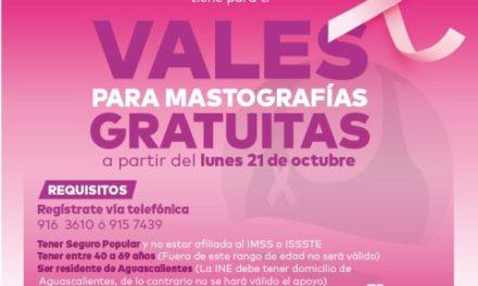 ¡Municipio otorgará 500 mastografías gratuitas!