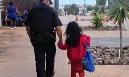 ¡Policías municipales de Aguascalientes rescataron a niña de 4 años de edad que sufría maltrato infantil!