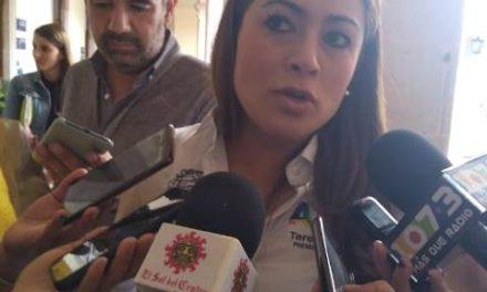 ¡Pide Tere Jiménez a los diputados federales hagan valer su derecho para respetar el presupuesto para los municipios!