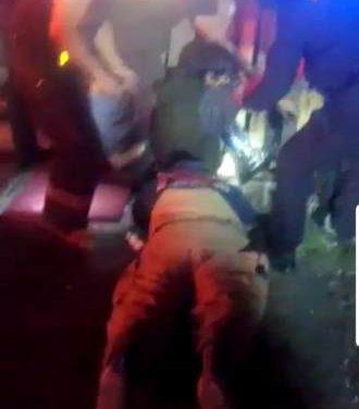 ¡Policías municipales y bomberos de Aguascalientes rescataron a hombre que cayó en un aljibe!