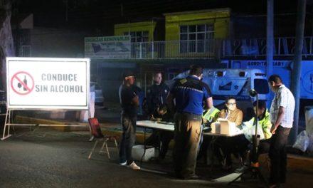 """¡Se realizó mega operativo """"Conduce Sin Alcohol"""" en Pabellón de Arteaga!"""