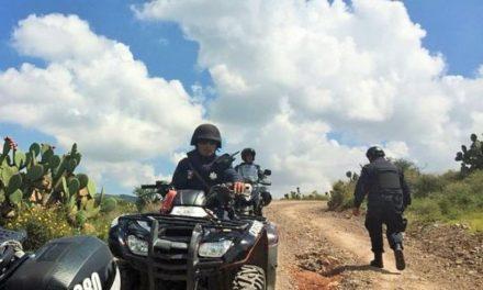 ¡Delincuentes balearon a policías municipales de Zacatecas y huyeron!