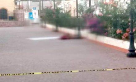 ¡Encontraron a un hombre ejecutado y decapitado en la Plaza de Nieves!