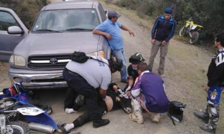 ¡Motociclista murió tras chocar contra una camioneta en Vetagrande!