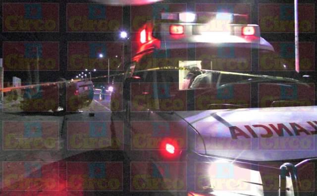 ¡1 muerta y 3 lesionados dejó volcadura de camioneta en Fresnillo!