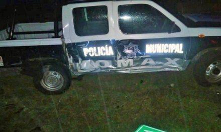 ¡Graves 2 policías municipales de Momax tras fuerte accidente!