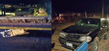 ¡Adulto mayor murió arrollado por una camioneta en Calvillo, Aguascalientes!
