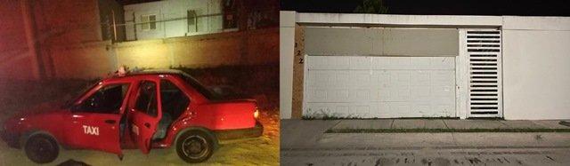 ¡Detuvieron 2 sujetos que balearon una residencia en un coto en Aguascalientes!