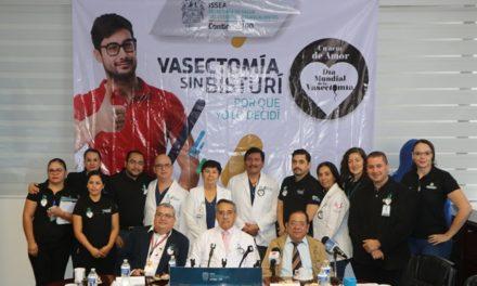 ¡Anuncia Sector Salud campaña de vasectomía sin bisturí!