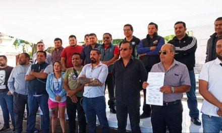 ¡Advierten choferes de plataformas digitales de cierre de calles si Gobierno no los escucha: Armando Rivera!