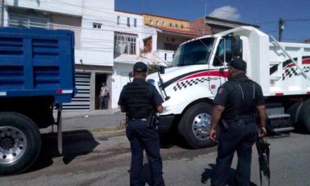 ¡4 sujetos balearon la casa y el camión de carga de un trailero originario de Sinaloa en Aguascalientes!