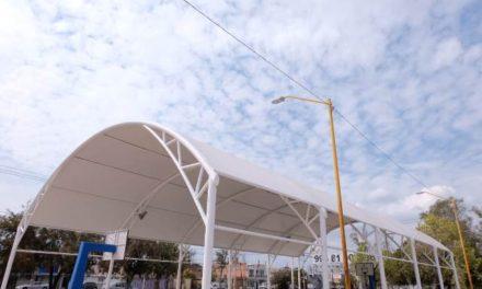 ¡Construirá Municipio 40 velarias más en parques y escuelas!