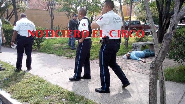 ¡Detuvieron a sujeto que asesinó a un adulto mayor en un jardín público en Aguascalientes!