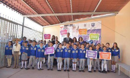 ¡El Gobierno de Jesús María vela por los derechos de la infancia!