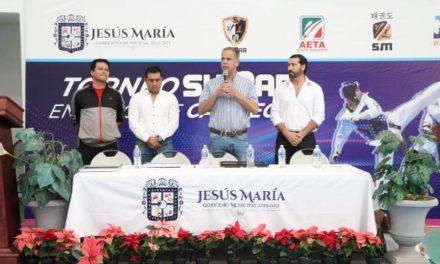¡Encabeza Toño Arámbula el arranque del Torneo Sumar en Jesús María!
