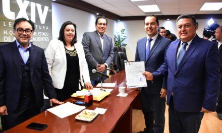 ¡Entrega Municipio Ley de Ingresos 2020 a Congreso del Estado!