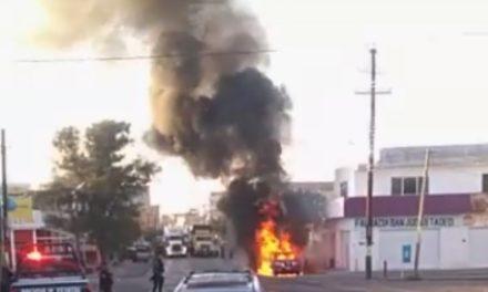 ¡Delincuencia organizada azota Luis Moya: un ejecutado, una camioneta incendiada y un enfrentamiento entre delincuentes!