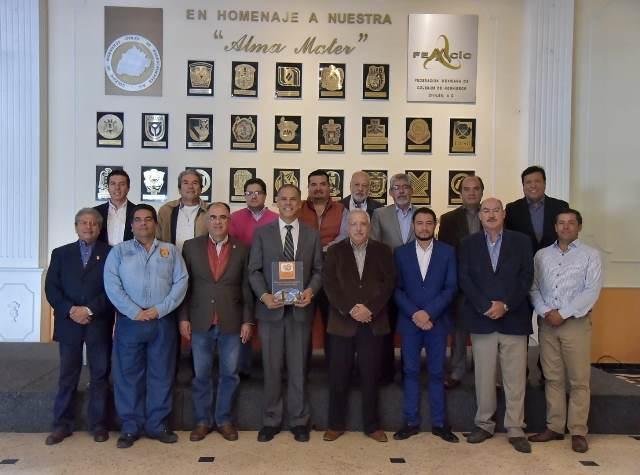 ¡Establecen lazos de colaboración el gobierno de Jesús María y el Colegio de Ingenieros!