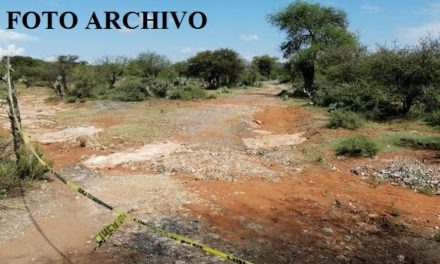 ¡Localizaron a un hombre ejecutado a balazos y un vehículo calcinado en Guadalupe!