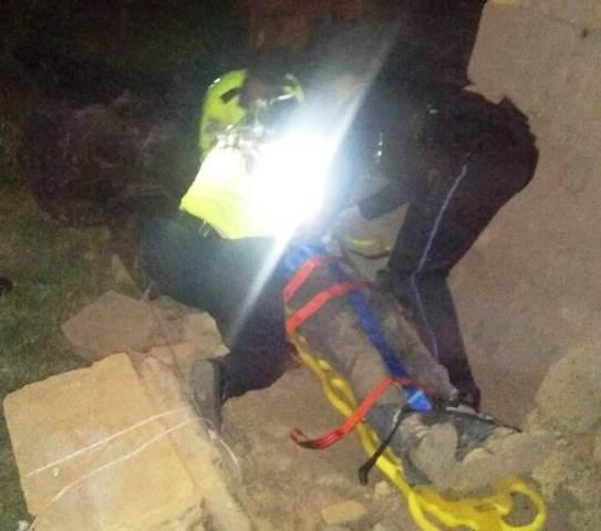 ¡Joven fue lesionado con un tronco de madera tras una riña en Calvillo, Aguascalientes!