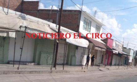 ¡La inseguridad obliga a empresarios a cerrar sus negocios en Luis Moya!