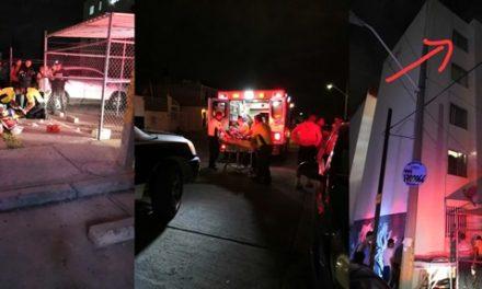 ¡Murió niño de 5 años de edad que cayó desde un quinto piso de un edificio en Aguascalientes!