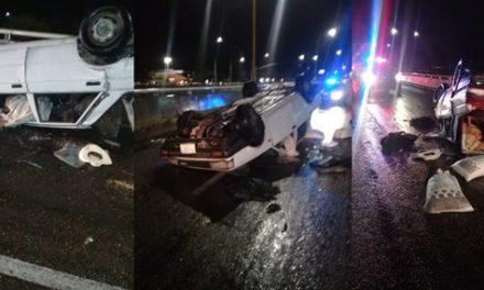 ¡Identifican a hombre muerto tras volcar su automóvil en Aguascalientes, era de Zacatecas!