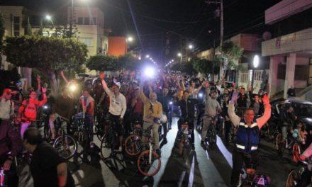 """¡Municipio convoca a la gran rodada nocturna """"Viva la Revolución""""!"""