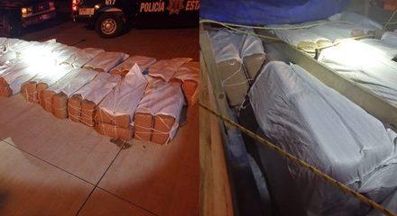 ¡Policía Estatal aseguró en la UNIRSE de Villanueva media tonelada de marihuana!