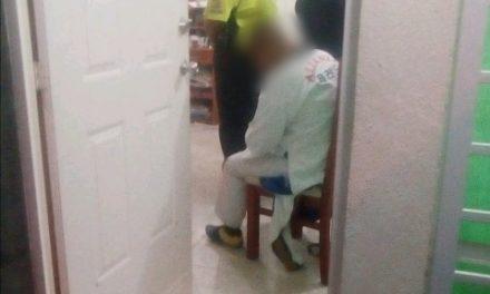 ¡Policías y paramédicos evitaron que una persona se quitara la vida en Aguascalientes!