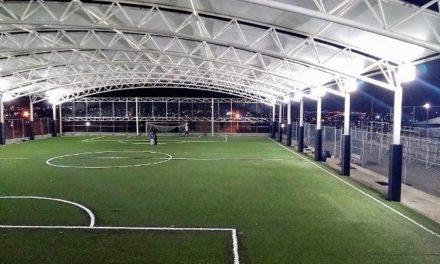 ¡Remodela Municipio instalaciones deportivas en el oriente de la ciudad!