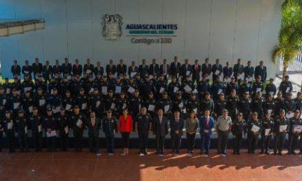 ¡Sin paso atrás en el combate a la delincuencia en Aguascalientes!