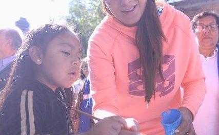 ¡Tere Jiménez pone en marcha jornada de limpieza en la colonia Barranca de Guadalupe!