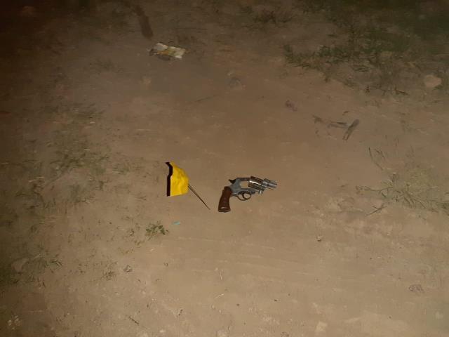 ¡METROPOL aseguró un arma de fuego y un arma blanca tras agresión en Calera!