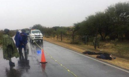 ¡Ejecutaron a 2 menonitas en Miguel Auza con rifles de asalto!