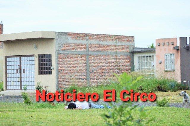 ¡Ejecutaron a un hombre en la colonia Jardines de la Capilla en Lagos de Moreno!