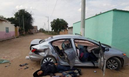 ¡Enfrentamiento entre policías y delincuentes dejó 2 'malandros' abatidos y 2 heridos en Pánfilo Natera!