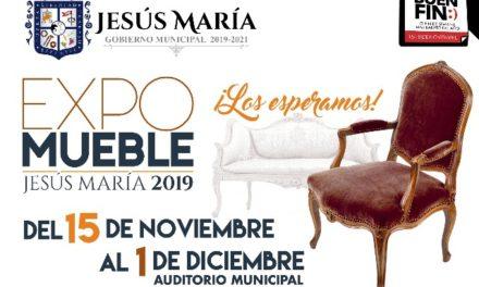 ¡Invitan a la Expo Mueble 2019 en Jesús María!
