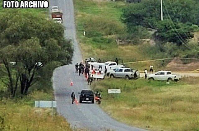 ¡Encontraron a un hombre ejecutado y maniatado en Encarnación de Díaz!