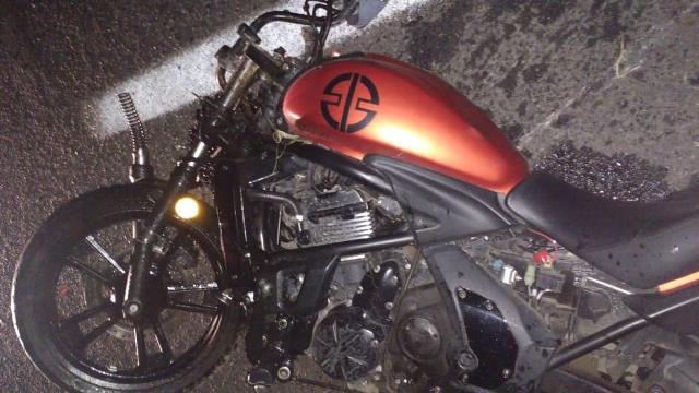 ¡Motociclista murió tras chocar contra un auto en Zacatecas!