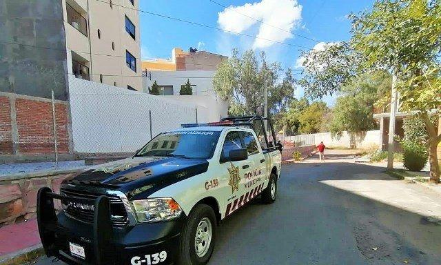 ¡Hombre se suicidó en una obra en construcción en Guadalupe!