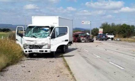 ¡Trágica carambola entre 3 vehículos dejó 1 muerto y 1 lesionado en Ciudad Cuauhtémoc!