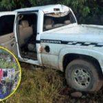 ¡Asaltantes robaron un cajero automático pero al huir en una camioneta se volcaron en Zacatecas!