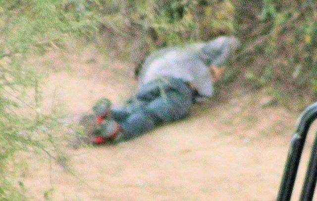 ¡Ejecutaron a un hombre con el 'tiro de gracia' en un camino de terracería en Aguascalientes!