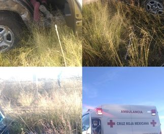 ¡1 muerto y 2 lesionadas dejó volcadura de camioneta en Aguascalientes!