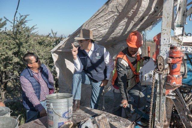 ¡360 familias de El llano se beneficiarán con agua potable!