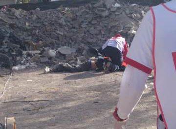 ¡Albañil murió tras caer de un cuarto piso en la construcción de un hospital privado en Aguascalientes!