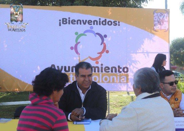 ¡Direcciones del Ayuntamiento de Pabellón de Arteaga atenderán en comunidades y colonias!