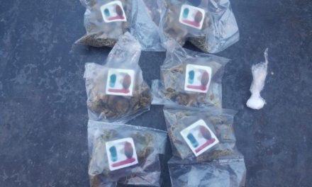 ¡En acciones distintas, PEP detuvo a dos personas por la posesión de droga!