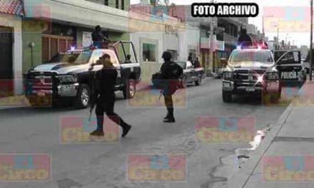 ¡En Noria de Ángeles civiles armados agredieron a elementos de la PEP; no hubo heridos!